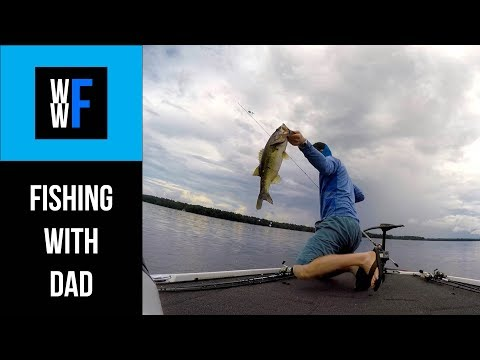 Bass Fishing With Dad, Lake Talquin Florida