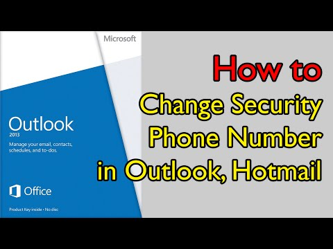 how to change your outlook password from a phone