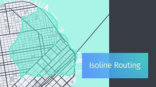 Isoline Routing