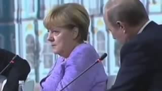 Ангела Меркель в ШОКЕ от пошлости Путина!