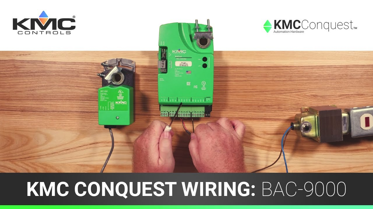 Kmc Controls Wiring Wire Center Audio Circuit Databasecircuit Schematics Diagrams And Projects Conquest Bac 9000 Series Controllers Youtube Rh Com Diagram