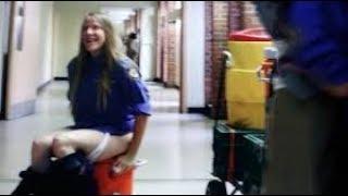 Group urinates Lesbian