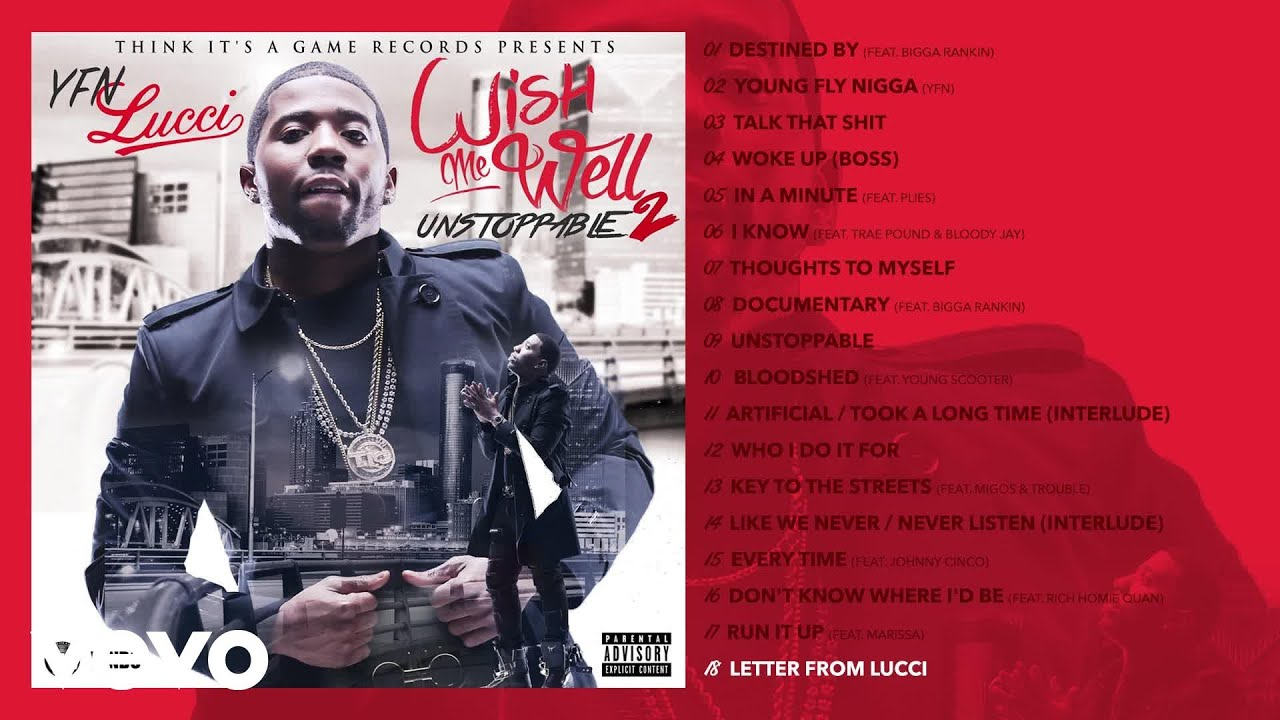 YFN Lucci - Letter from Lucci (Audio)