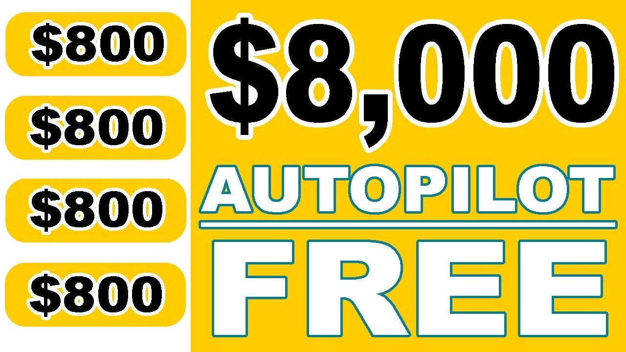 This Website Pays 800 Every Hour Automatically Make Money Online Auto Pilot Passive Income