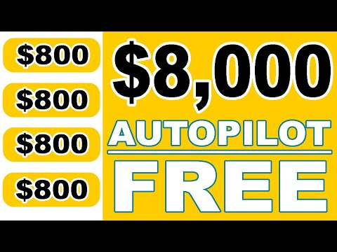 This Website Pays $800 Every Hour Automatically (Make Money Online) Auto Pilot Passive Income