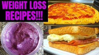 LOSE WEIGHT FAST! | Top 3 Low Calorie Diet Recipes