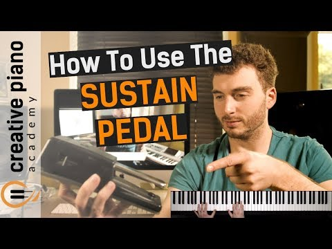 Sustain Pedal - SIMPLE exercise gets you using the piano sustain pedal... NOW