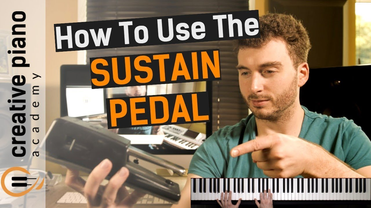 Download Sustain Pedal - SIMPLE exercise gets you using the piano sustain pedal... NOW