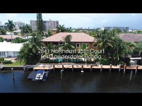 Luxury Waterfront Homes Florida - Ft Lauderdale Real Estate - 2841 NE 35th Ct, Fort Lauderdale, FL