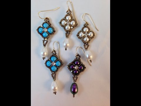 Reversible Crazy for Pearls Earrings