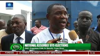 INEC Organises National Assembly Bye Election In Bauchi, Cross River
