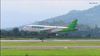 Plane Spotting 2020 Di Bandara Sultan Hasanuddin Makassar - Video Pesawat Terban