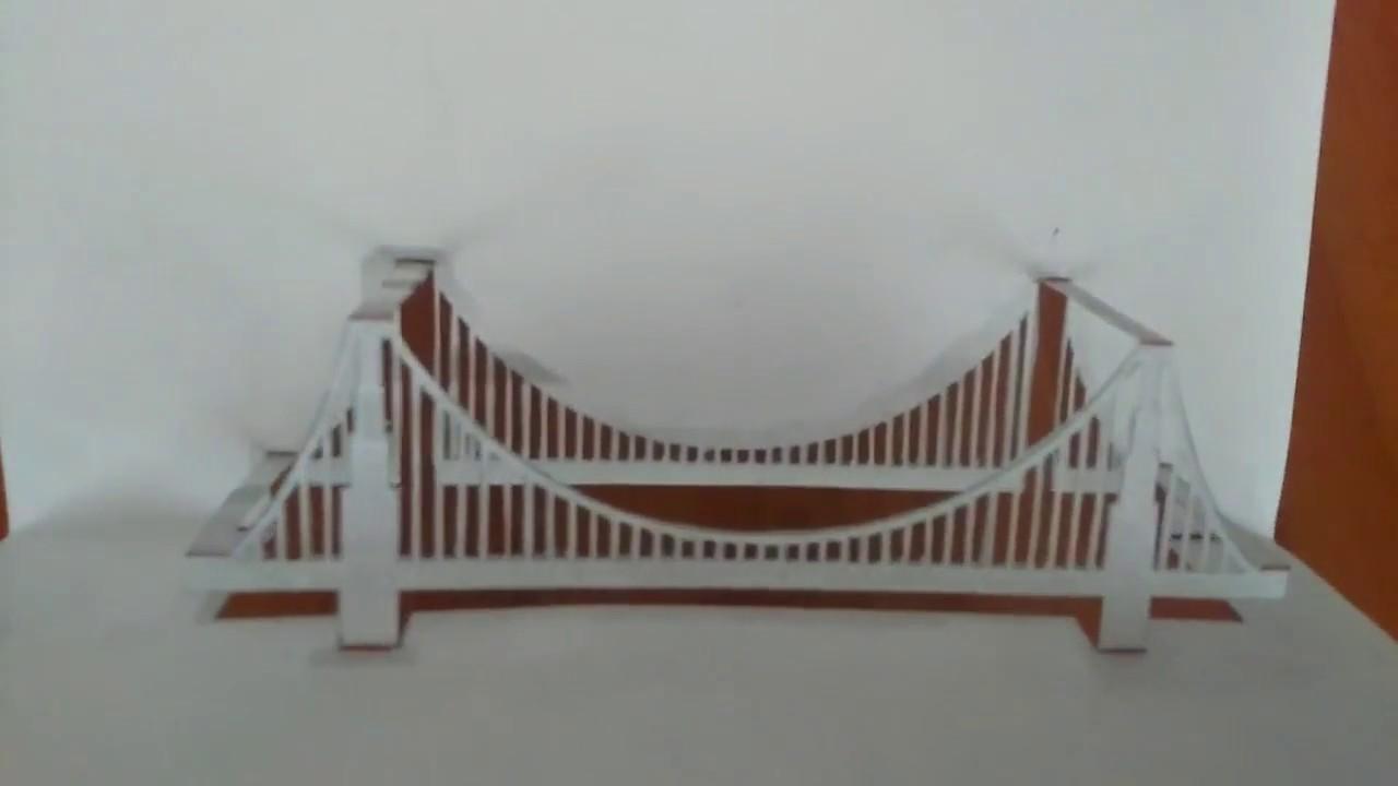 Roman Arch WEEK 6 | Origami bridge, Paper bridge, Paper craft ... | 720x1280