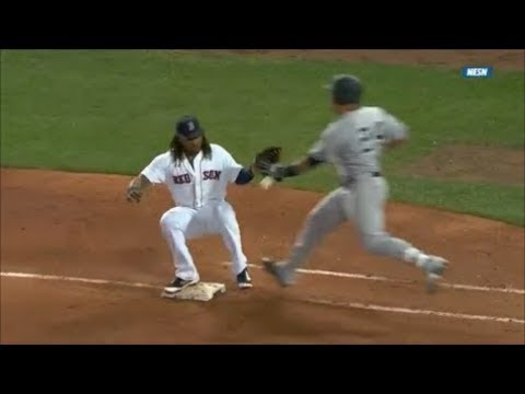 MLB First Base Collisions