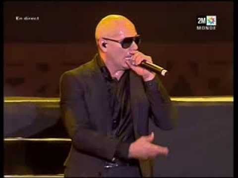 Pitbull On The Floor I Like It Live In Morocco