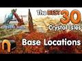 ARK Crystal Isles BEST BASE LOCATIONS