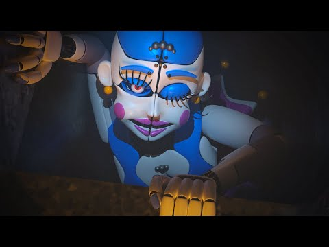 THIS ANIMATRONIC IS CRAWLING THROUGH THE VENTS TO GET ME.... | Circus Baby's Diner