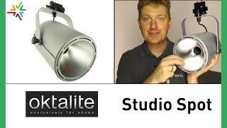 Studio Spot/Shop-Beleuchtung von Oktalite [watt24-Video Nr. 117]