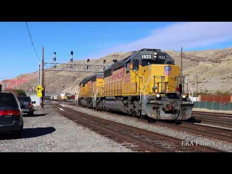 Railfanning The Salt Lake Subidivison - Ogden Utah To Salt Lake City