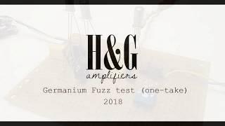 Germanium Fuzz With AC125 Transistor - Quick Test