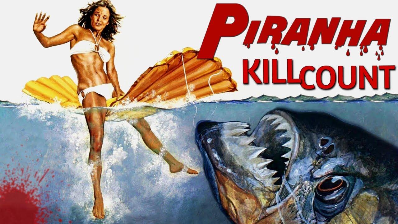 Piranha (1978) - Kill Count S07 - Death Central