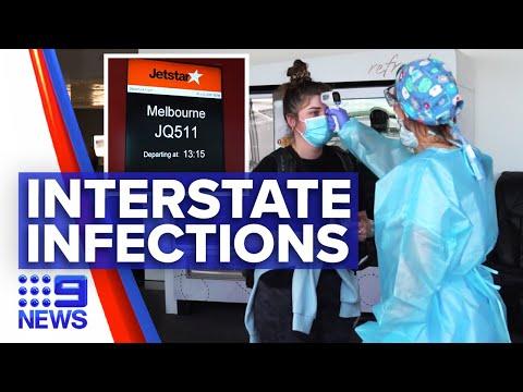 Coronavirus: Screening Measures Reinforced Amid Sydney Outbreak | 9 News Australia