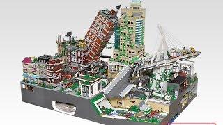 Lego 'Last of Us' Fallen City (레고 라스트 오브 어스 디오라마)
