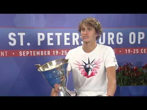 Alexandr Zverev St.Petersburg Open 2016