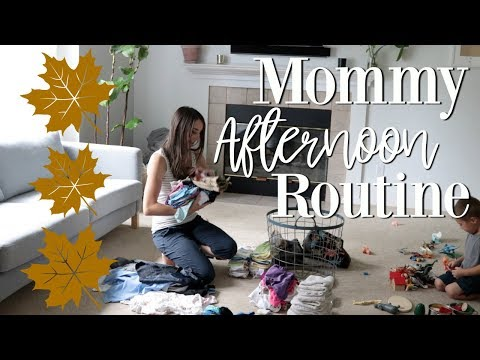 Mommy of 4 Kids Afternoon Routine 2018 Stay At Home Mom