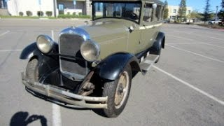 1928 Studebaker Commander Army Staff Car on GovLiquidation.com