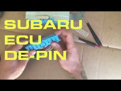 Subaru ECU De-Pin - Single Connector ECU (95-99)