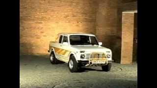 видео ВАЗ 2329 (Пикап Нива) российского производства для российских дорог