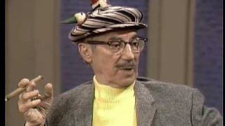 Groucho talks about dirty entertainment