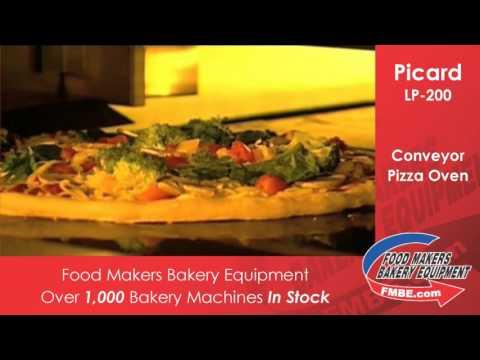 Picard LP 200 Conveyor Oven | Food Makers Bakery Equip