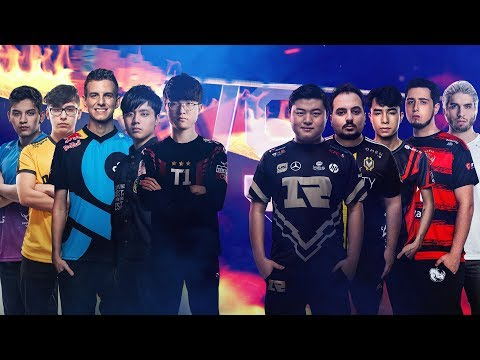 All-Star 2018 - Blitz do Nexus - Faker, Uzi, Rakin e grande elenco - (5x5)