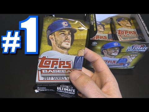 2017 TOPPS SERIES 1 BOX BREAK! | Opening Packs #1