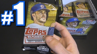 2017 TOPPS SERIES 1 BOX BREAK! | Opening Packs #1 thumbnail