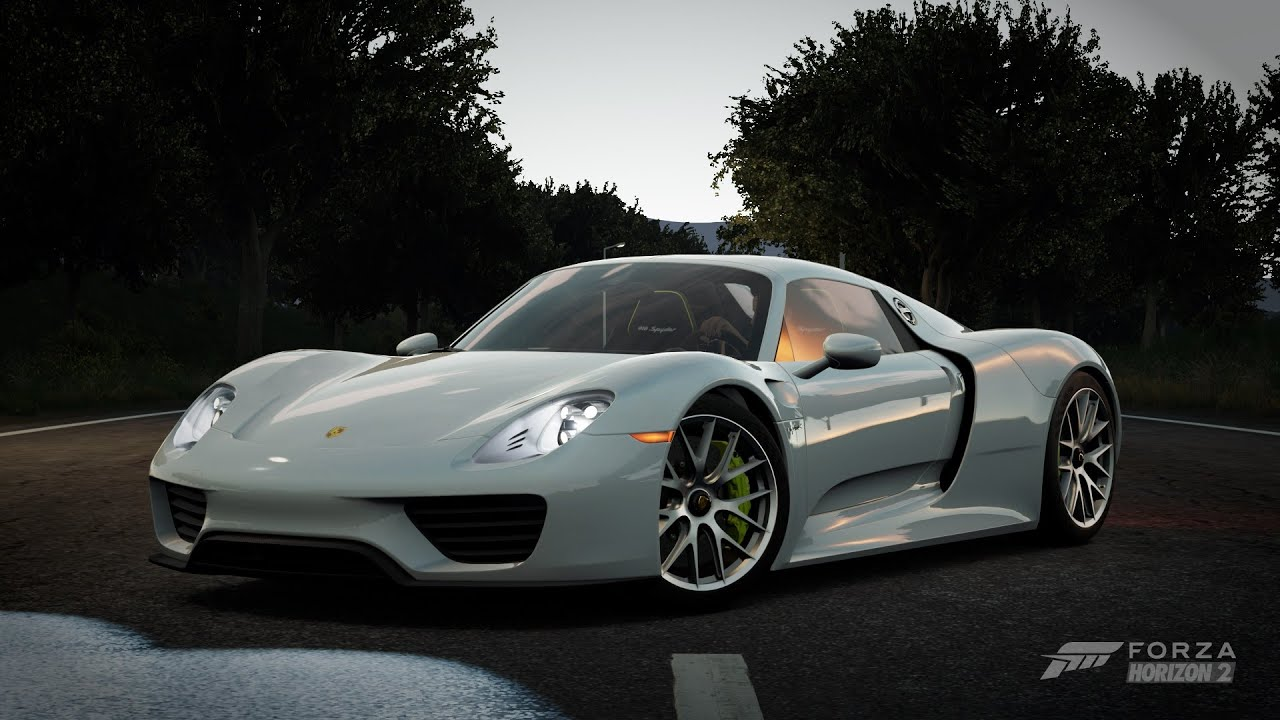 forza horizon 2 2014 porsche 918 spyder youtube. Black Bedroom Furniture Sets. Home Design Ideas