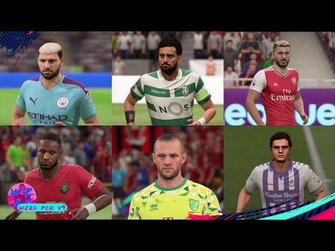 WZRD PCK V9 (80+ FACES, 45+BOOTS, ALL NEW BALLS, TATTOOS, TRANSFERS, 2019/20 40+KITS & MINIKITS)