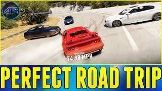 Forza Horizon 2 : Top Gear Challenge - PERFECT ROAD TRIP!!!