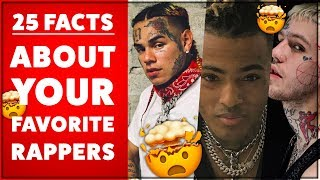25 MIND BLOWING FACTS ABOUT RAPPERS | 2019