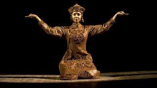 ГААНТ имени Игоря Моисеева. Монгольская статуэтка.