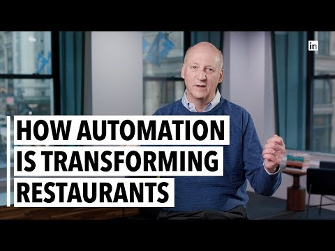 Ron Shaich How Automation Is Transforming Restaurants - YouTube