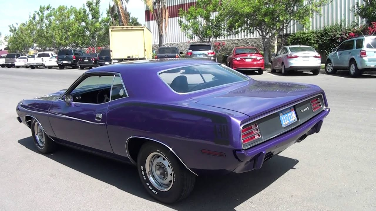 1970 Cuda for sale by Precious Metals Classic Cars San Diego, Ca ...