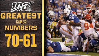 100 Greatest Games: Numbers 70-61 | NFL 100