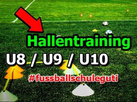 Hallentraining U8 U9 U10