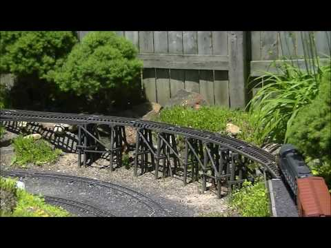 2017 South Jersey Garden Railway Society Open House Tour