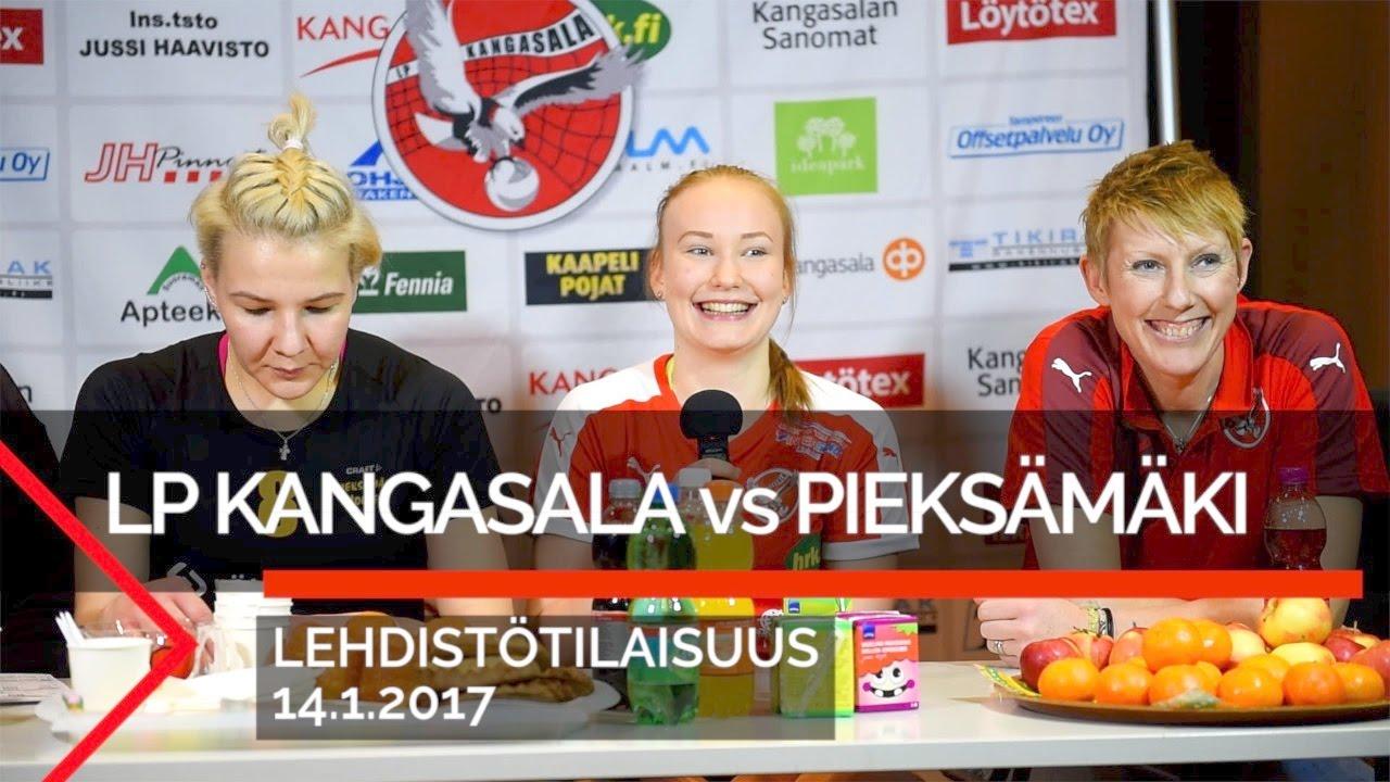 Lehdistötilaisuus: LP Kangasala-Pieksämäki Volley, 14.1.2017 - YouTube
