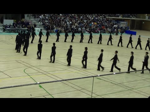 awesome japanese precision marching