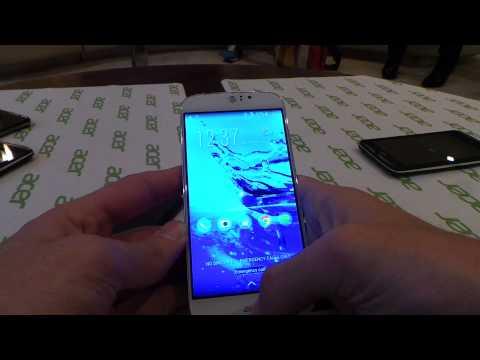 Acer Liquid Jade S bemutató videó